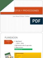 Evidencia 3 Presupuestos y Proyecciones