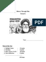 Argo and Iran Hostage Crisis Test.docx