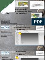 Aveva E3D Ver. 2.1 - Crear Estructura Tipo Galpón Jaime Guzman Delgado