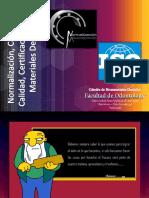 Normalización, Control de Calidad, Certificación de.pptx