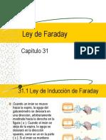 Cap 31 Ley de Faraday