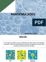 nanoemulsões