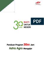 Panduan 3000 Jam Astra Agro Mengajar
