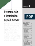 Instalacion de SQL