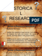 PracRes Historical Research