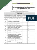 Lista de Cotejo Para Reporte de Proyecto de Nave Industrial - Copy