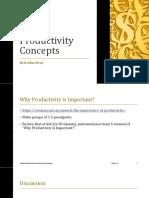 Materi I_Productivity Concepts