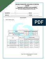 Modelos de Analisis Clinicos