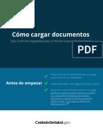 Sepv How to Upload Docs Es