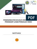 Modul Pengolahan Audio Video