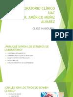 Clase Inaugural Laboratorio Clínico-1