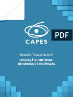 DAV CAPES Educacao Doutoral Reformas e Tendencias 2018