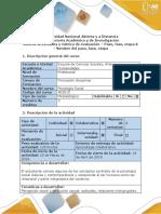 Guía de actividades y rúbrica de evaluación - Fase 2 - Comprendiendo algunos marcos teóricos de la psicología social.docx
