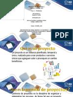 Planeacion de proyecto