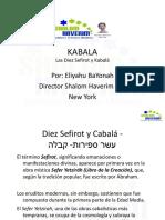 Kabala y Las Diez Sefirot