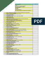 Checklist HSE
