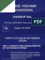 S2-Sesión 02a - Semama 02 HIGHWAY ENGINEERING - 21.08.18.pptx