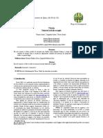Formato de presentación de un informe