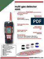 GX 6000 Catalog
