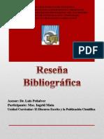 Reseña Bibliogradica Ingrid Mata