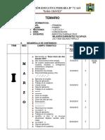 TEMARIO COMUNICACIÓN  2018  primer grado.docx