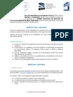 Primer Concurso de Edificios de Palitos de Madera ESIA IPN