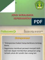 JENIS WIRAUSAHA KEPERAWATAN