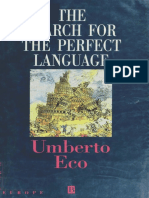 (eBook) - Umberto Eco - The Search for the Perfect Language.pdf