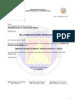 Carta Dirijida Al Decano Para Perfil
