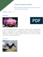 Simbolos patrios y emblemas de Colombia.docx