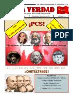 """LA VERDAD"" MARZO PERIÓDICO DEL COMITÉ CENTRAL DEL PCS"