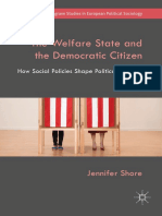 (Palgrave Studies in European Political Sociology) Jennifer Shore - The Welfare State and the Democratic Citizen-Springer International Publishing_Palgrave Macmillan (2019).pdf
