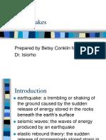 الزلازل
