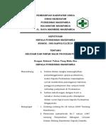 SK 1,2 Keluhan dan Umpan Balik Program Puskesmas 4.2.6.1, 4.2.6.2.docx