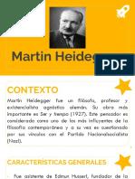 Ideas filosóficas de Martin Heidegger