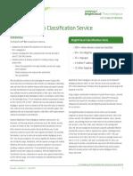 Brightcloud Web Classification Service