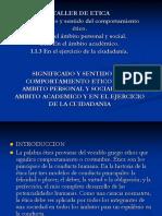 TALLER DE ÉTICA, 1.1, 1.1.1, 1.1.2, 1.1.3..ppt