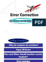 Error Correction 2006