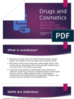 Drugs and Cosmetics (ndps act)
