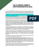 FREUD CONSEJOS AL MÉDICO SOBRE EL TRATAMIENTO PSICOANALÍTICO.docx