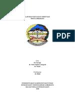 laporan orientasi rsud