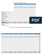 Startup Costing Template Xls