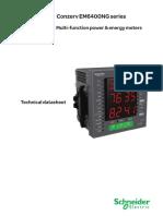 Catalogue Meters EM6400NG