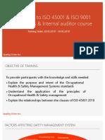 Tamplet - Training Presentation