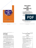 Ilbco-food Safety & Standard's-2009