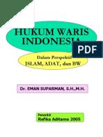 Hukum Waris Indonesia Dalam Adat,Islam,Dan Bw