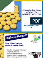 Pengobatan Pada Penderita DM