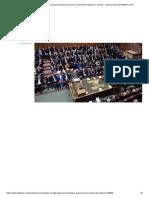 Ninguna Vía Alternativa de Brexit Logra Mayoría en El Parlamento Británico - Europa - Internacional - ELTIEMPO.com