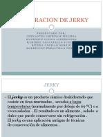 Elaboracion de Jerky