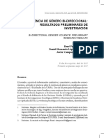 Pereira, López, Campuzano. 2017. Violencia de Género Bidireccional.